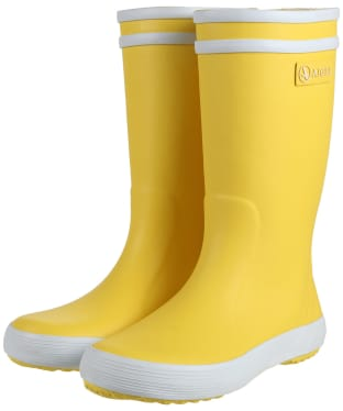 Aigle Children's Lolly-Pop Wellingtons - Yellow