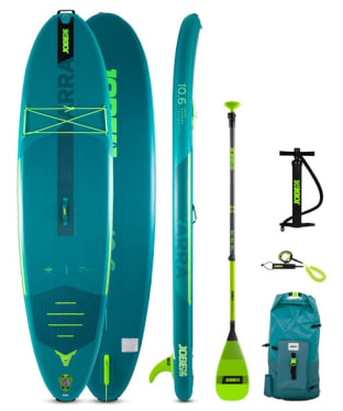 Jobe Yarra 10.6 Inflatable Paddle Board Package - Teal