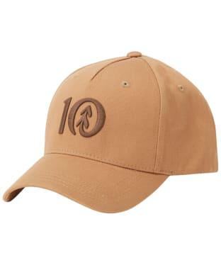 Tentree Logo Cork Brim Altitude Hat - Foxtrot Brown