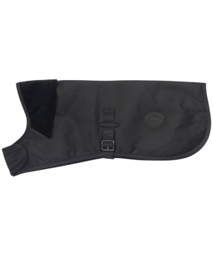 Barbour Waxed Cotton Dog Coat - Navy
