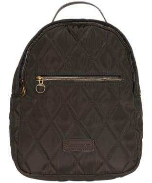 Women's Barbour Witford Quilted Backpack - Olive