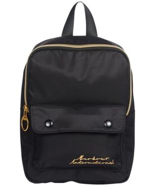 Women's Barbour International Apex Backpack - Black