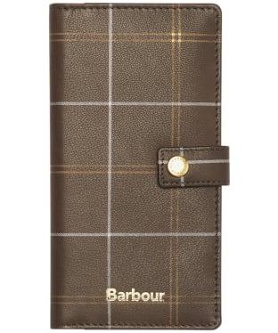 Barbour Phone Wallet - Brown