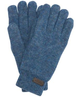 Men's Barbour Carlton Gloves - Dark Denim