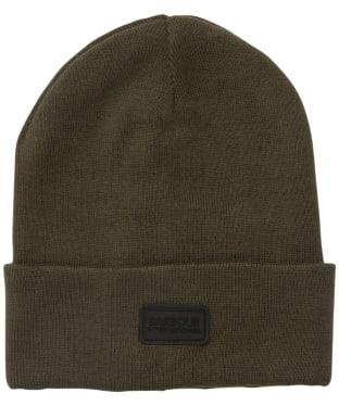 Men's Barbour International Sensor Knit Beanie Hat - Dusky Khaki