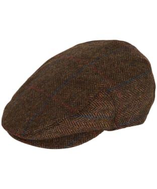 Men's Barbour Cairn Flat Cap - Brown Check