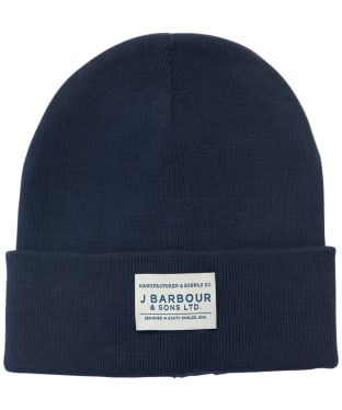Men's Barbour Nautic Beanie - Navy