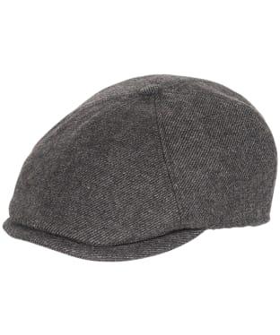Men's Barbour Claymore Baker Boy Hat - Charcoal Grey