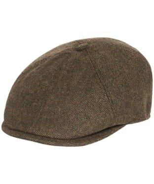 Men's Barbour Claymore Baker Boy Hat - Olive Twill