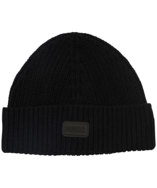 Men's Barbour International Sweeper Knit Beanie - Black