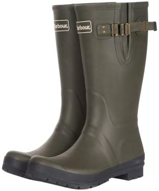 Men's Barbour Cirrus Wellington Boots - Olive