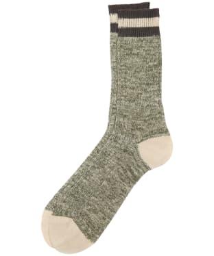 Men's Barbour Shandwick Socks - Olive