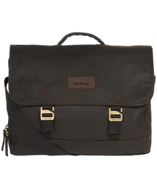 Barbour Traveller Wax Shoulder Bag - Olive