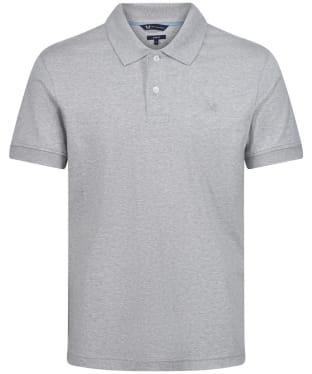 Men's Crew Clothing Luxe Supina SS Polo Shirt - Grey