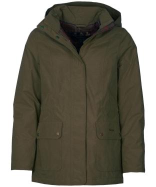 Women's Barbour Lockwood Waterproof Jacket - Olive