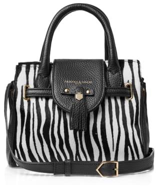 Women's Fairfax & Favor Mini Windsor Handbag - Zebra Haircalf