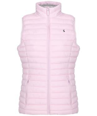 Women's Joules Snug Packable Gilet - Soft Pink