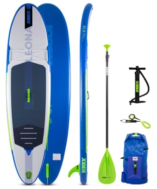 Jobe Leona 10.6 Inflatable Paddle Board Package - Blue