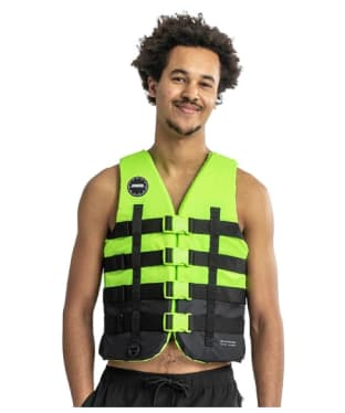 Jobe 4 Buckle Vest - Lime