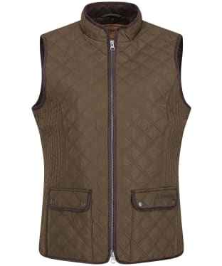 Women's Schoffel Quilted Gilet - Olive