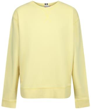 Women's Joules Monique Sweatshirt - Lemon Sherbert