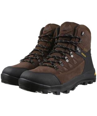 Men's Aigle Letrak Suede GORE-TEX Boots - Dark Brown