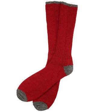 Pennine Byron Boot Socks - Cherry