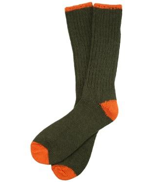 Pennine Byron Boot Socks - Olive Spice