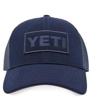 Yeti Patch on Patch Trucker Hat - Navy