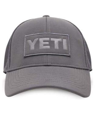 Yeti Patch on Patch Trucker Hat - Grey
