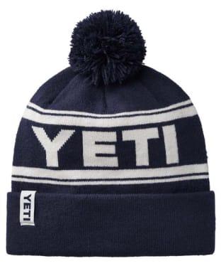 Yeti Retro Knit Hat - Navy / White