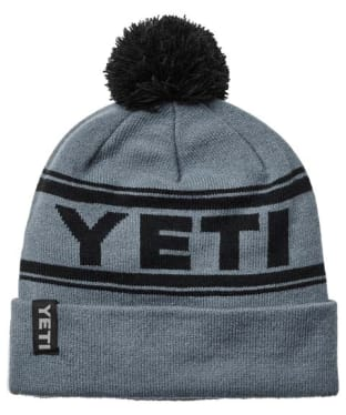Yeti Retro Knit Hat - Grey / Black