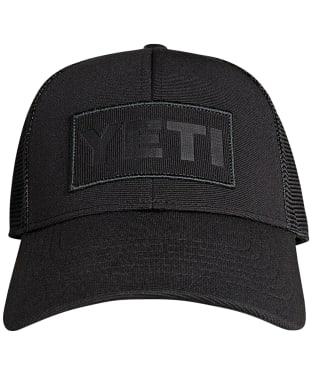 Yeti Patch on Patch Trucker Hat - Black