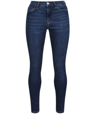 Women's GANT Nella Travel Indigo Jeans - Dark Blue Worn In