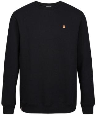 Men's Tentree TreeFleece Classic Crew Sweatshirt - Meteorite Black