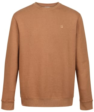 Men's Tentree TreeFleece Classic Crew Sweatshirt - Foxtrot Brown