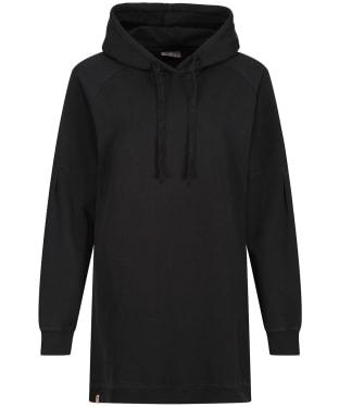 Women's Tentree French Terry Hoodie Dress - Jet Black