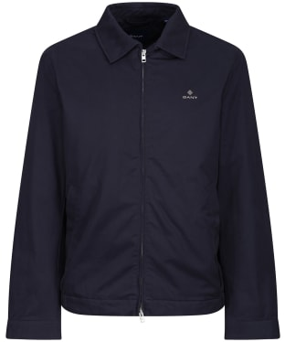 Men's GANT Windcheater Casual Jacket - Evening Blue