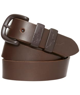 R.M. Williams Drover Leather Belt - Chocolate