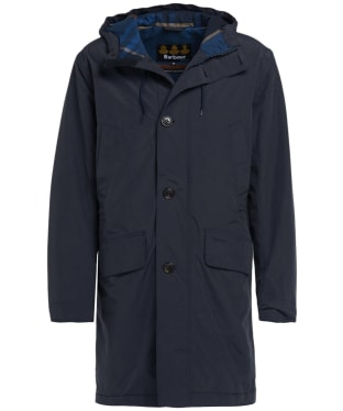 Men's Barbour City Parka Jacket - Navy