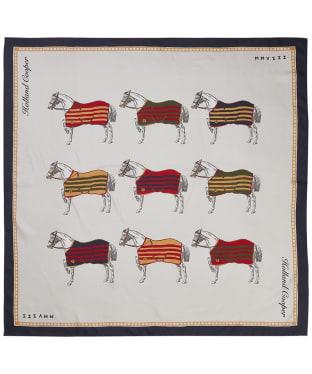 Women's Holland Cooper Nine Horse Silk Scarf - Nine Horse