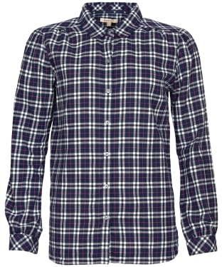 Women's Barbour Birling Shirt - Navy Check