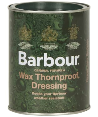 Barbour Family Sized Wax Thornproof Dressing Tin -