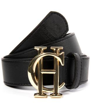 Women's Holland Cooper Classic Belt - Black / Gold