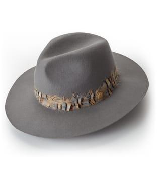 Women's Holland Cooper Trilby Hat - Light Grey