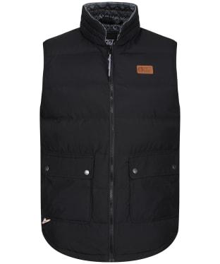 Men's Picture Russello Vest - Black