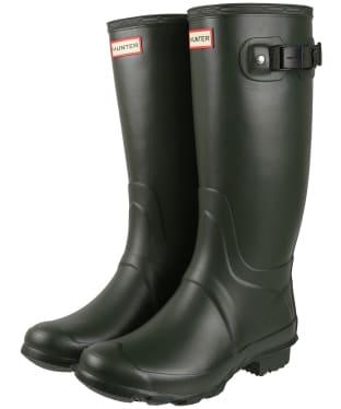 Women's Hunter Huntress Wide Boots - Dark Olive