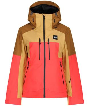 Women's Picture Exa Waterproof Jacket - Dark Golden