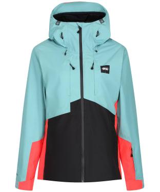 Women's Picture Seen Waterproof Jacket - Cloud Blue
