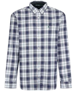 Men's Joules Hewitt Shirt - Green / Blue Check